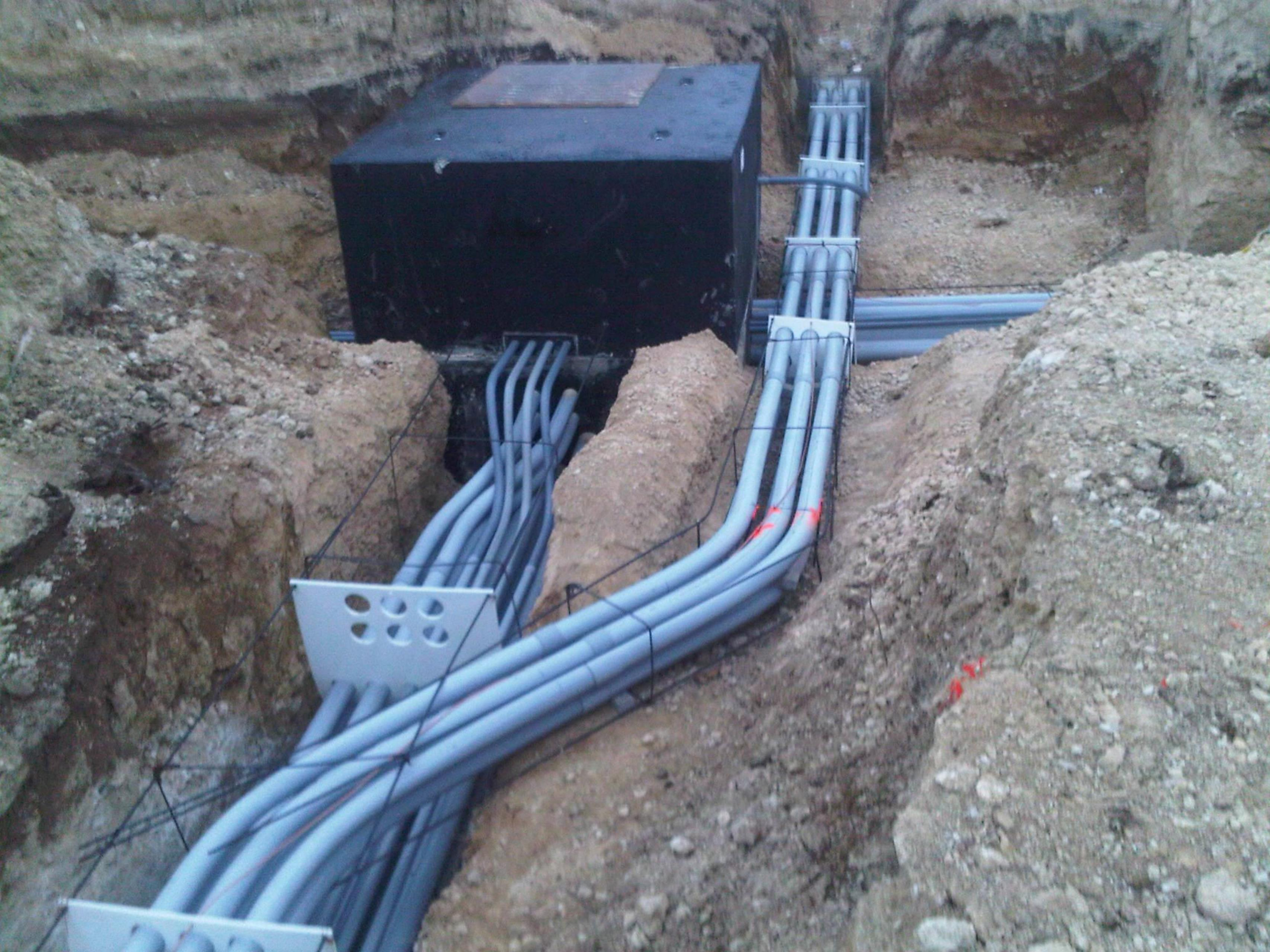 Electrical Construction Elk Electric Home Wiring Green Building Central Ductbank